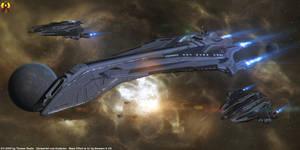 Mass Effect Nelson class by Euderion