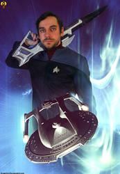 Clinton Fox - Space Pilot by Euderion