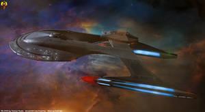 Upgraded Akira - USS Euderion Beautyshot