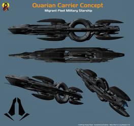 Quarian Carrier Concept