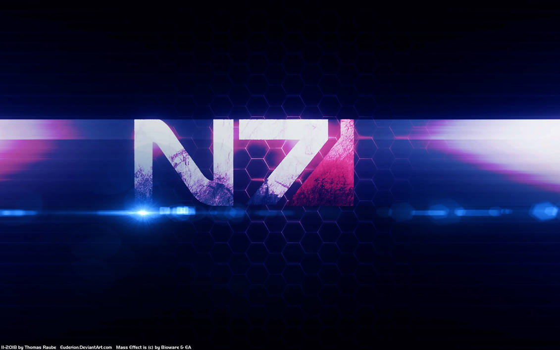 Mass Effect N7 Day 2019 Wallpaper by Euderion