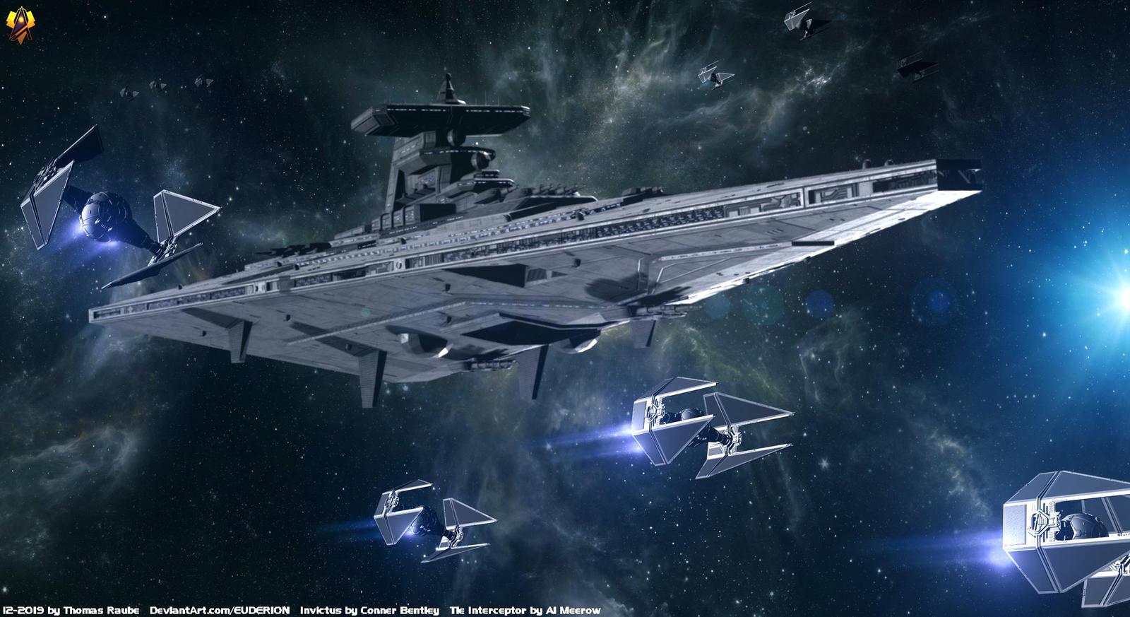 Invictus Class Star Cruiser By Euderion On Deviantart