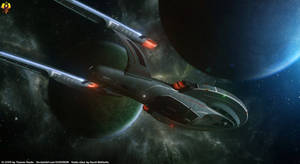 Star Trek Destiny - USS Aventine