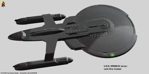 Lost Era Cruiser - USS Erebus (w.i.p.)