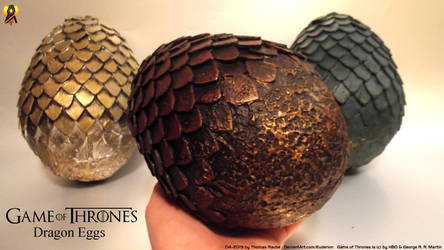 Game of Thrones Dragon Eggs Lifesize Props