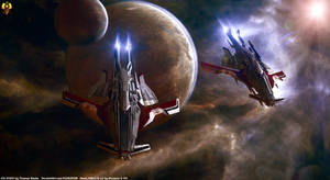 Turian Destroyer Elanus class