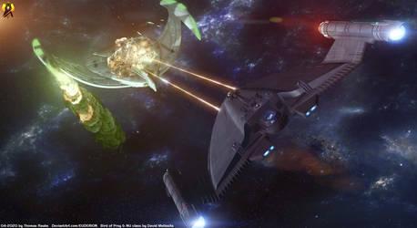 Hunting Birds - Romulan War by Euderion