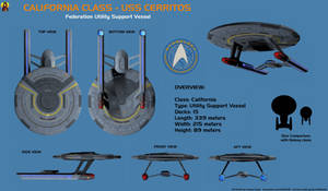 USS Cerritos - California class - Overview