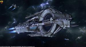 Quarian Cruiser (Pre Flotilla)