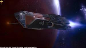 Expanse - Morrigan class Destroyer