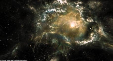 Realistic Space Nebula (New Stock)