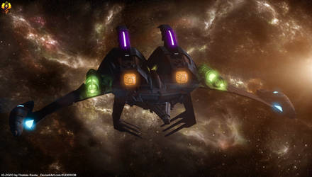 Pakled Dreadnought - Lower Decks by Euderion