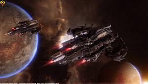 Krogan Cruisers - Mass Effect