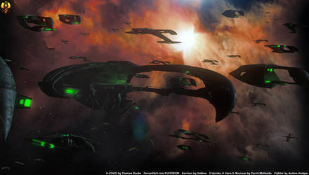 The Power of the Romulan fleet by Euderion