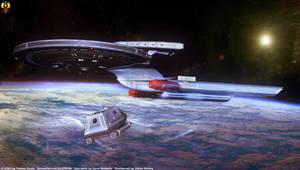USS Olos - Incoming Shuttlecraft