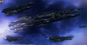 Mass Effect - Batarian Dreadnought