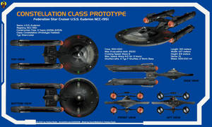 Constellation Prototype USS Euderion Overview