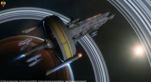 Alpha Centauri Colony Ship - U.E.S. Proxima