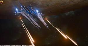 SSV Leonidas - Alliance Destroyer