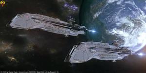 Mass Effect Nelson Destroyer