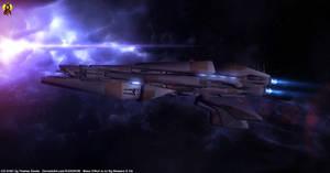 Mass Effect - Vorcha Corvette