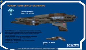 Vorcha Void Devils Starships