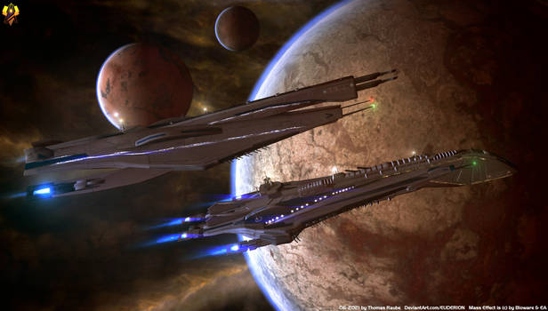 Old and New - Systems Alliance ships