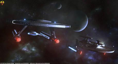 USS Cerritos - 800 Episodes of Star Trek