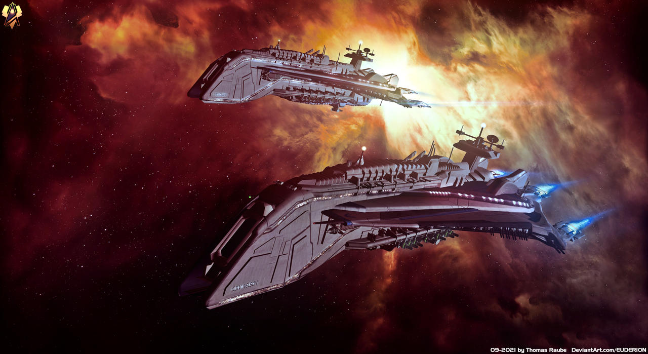 Alliance Destroyers - Nelson Mk2 class