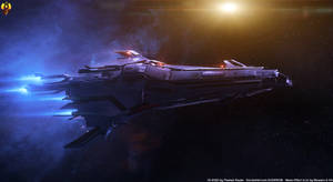 Turian Pelagornis class Dreadnought