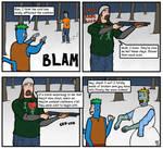 Frosty the Snow Zombie