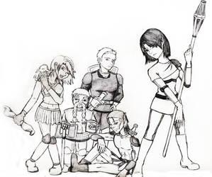 Dragon Age vivien's Team scrap by TenKaulitz
