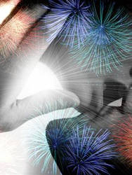 i can see fireworks by candy-quackenbush