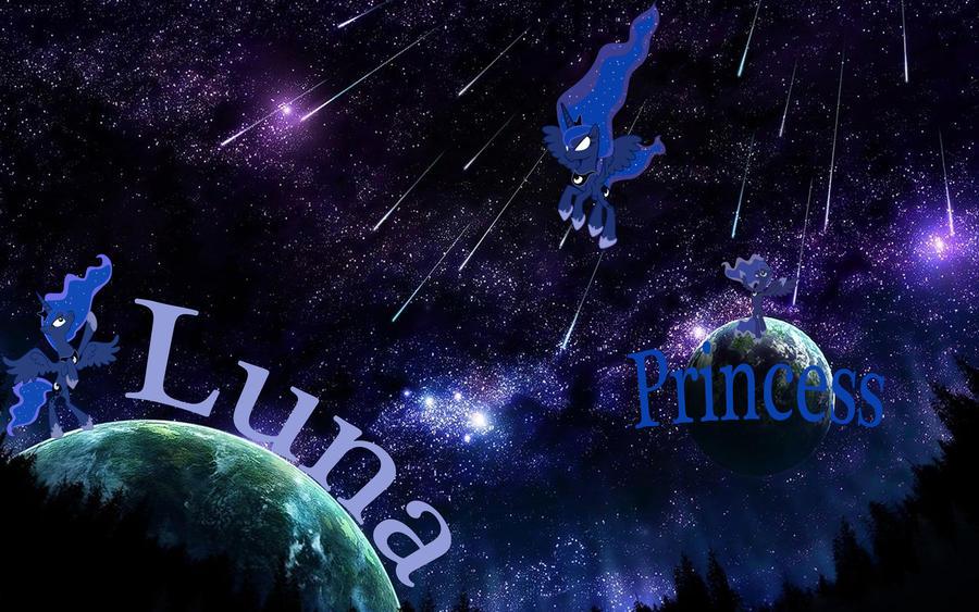 Princess Luna Wallpaper by Macgrubor