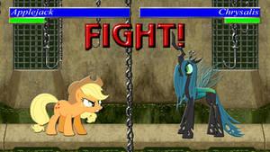 Pony Kombat Tournament Round 1, Battle 1