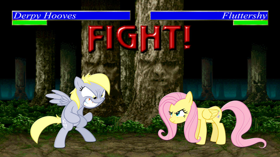 Pony Kombat Tournament Round 1, Battle 2 by Mr-Kennedy92
