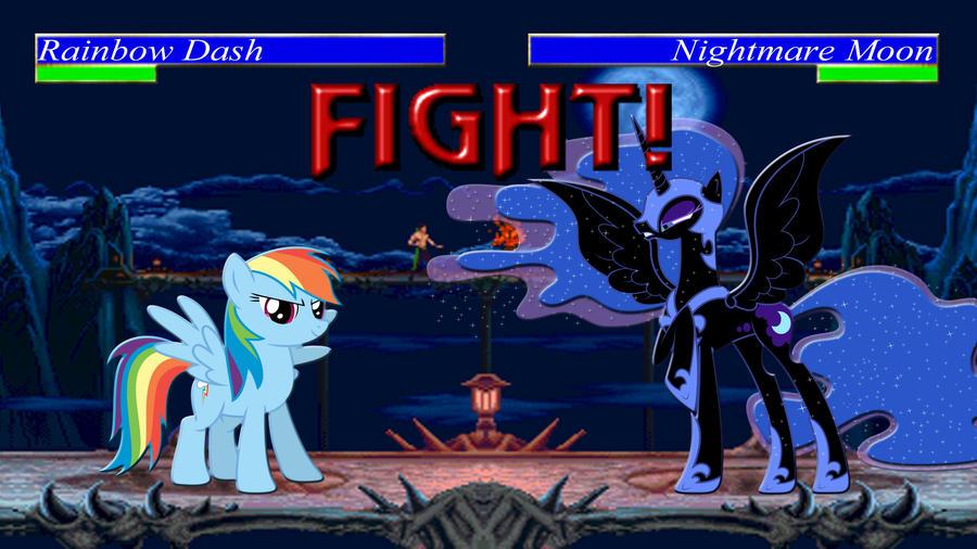 Pony Kombat Tournament Round 1, Battle 5 by Macgrubor