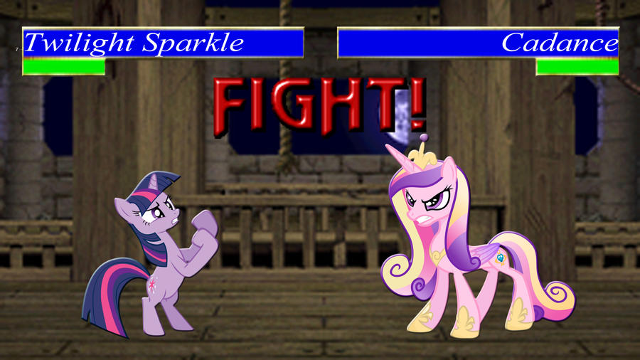 Pony Kombat Tournament Round 1, Battle 10 by Macgrubor