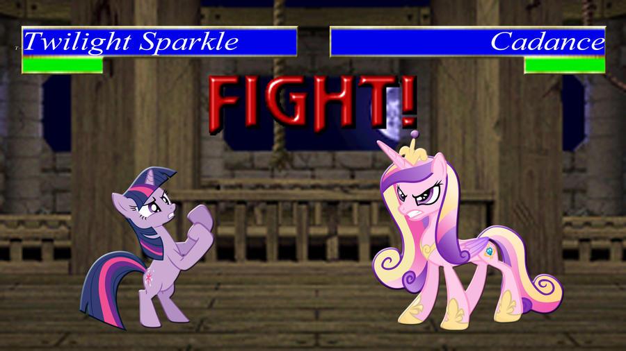 Pony Kombat Tournament Round 1, Battle 10 by Macgrubor