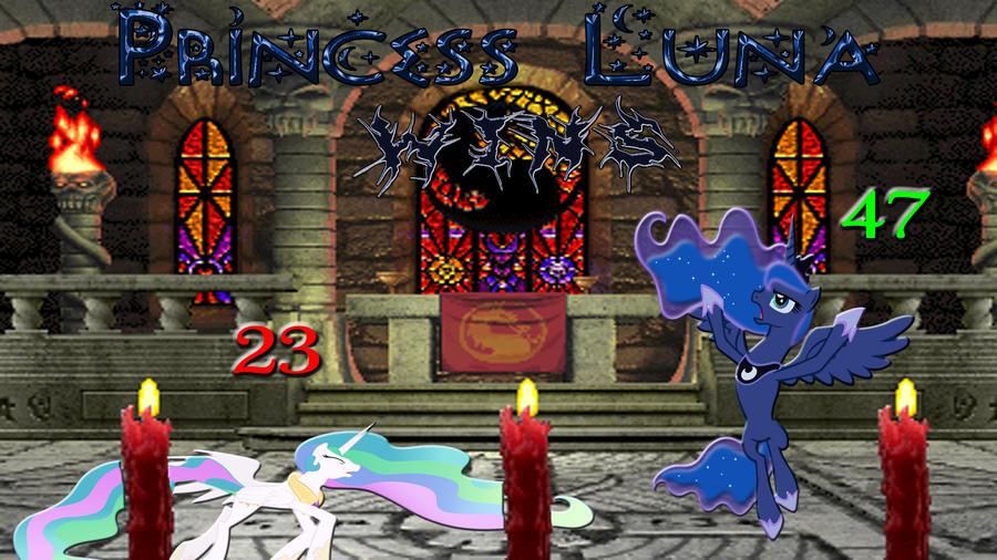 Pony Kombat Tournament Round 1, Battle 12 (Result) by Macgrubor