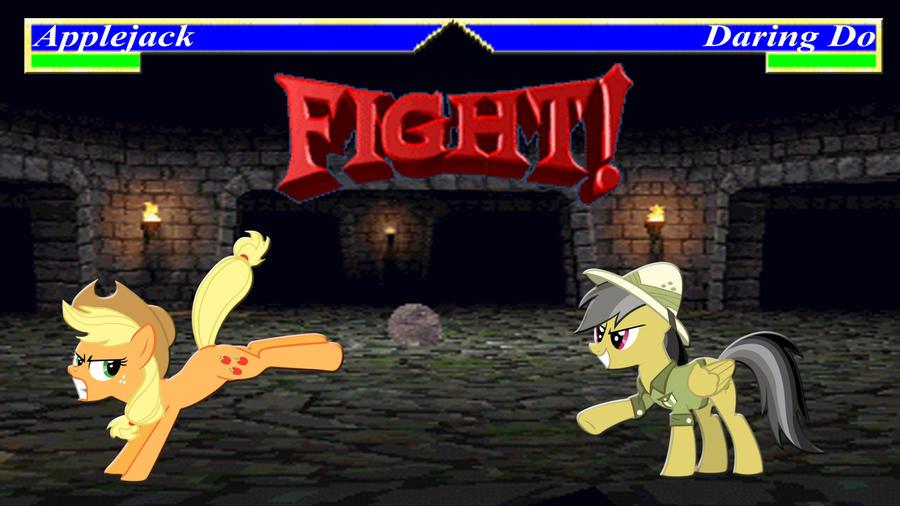 Pony Kombat Tournament Round 2, Battle 2 by Macgrubor