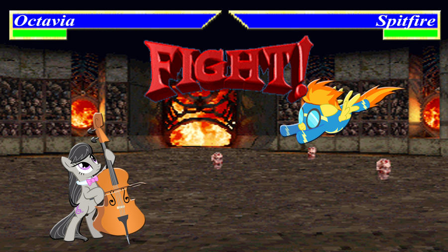 Pony Kombat Tournament Round 2, Battle 3 by Macgrubor