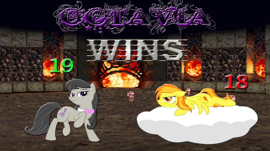 Pony Kombat Tournament Round 2, Battle 3 (Result) by Macgrubor