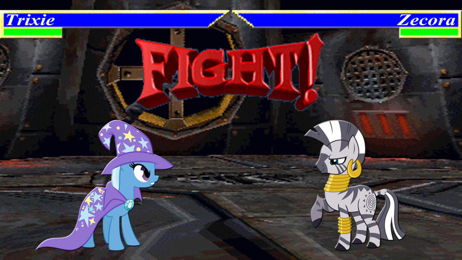 Pony Kombat Tournament Round 2, Battle 5 by Macgrubor