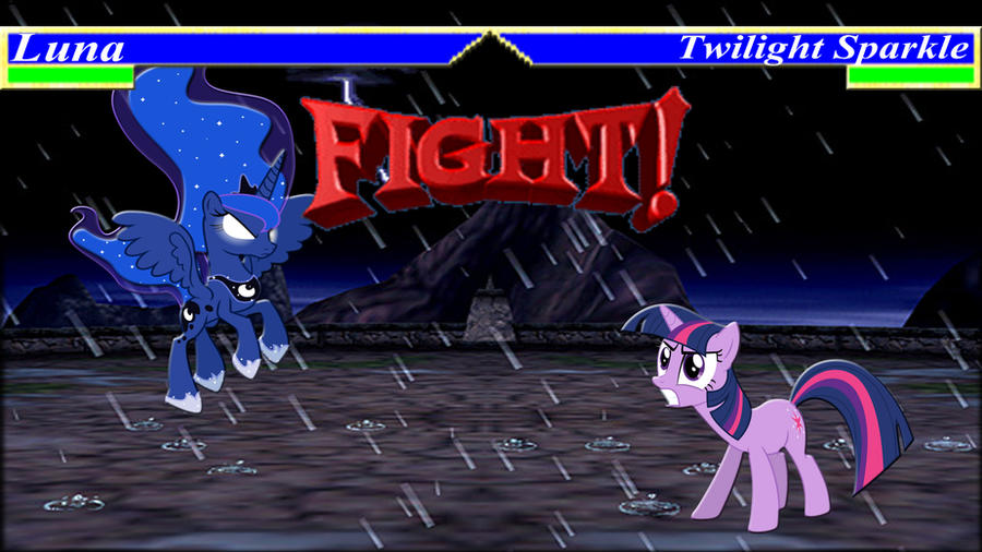 Pony Kombat Tournament Round 2, Battle 6 by Macgrubor