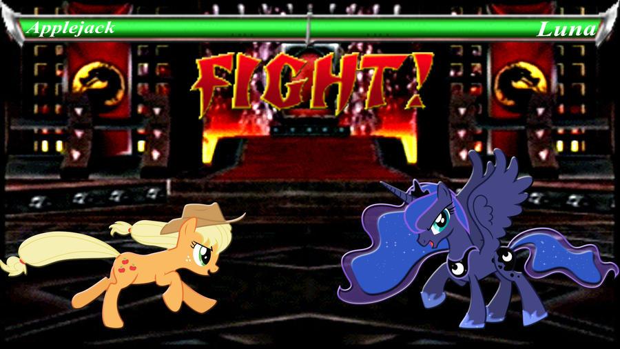 Pony Kombat Tournament Round 3, Battle 3 by Macgrubor