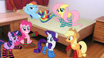 Mane 6 In Their Socks