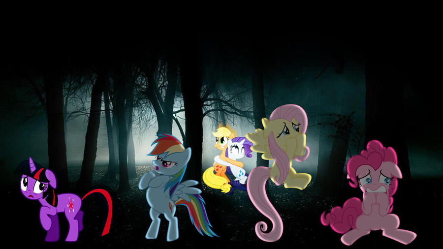 Mane 6 Get Lost In The Woods by Mr-Kennedy92