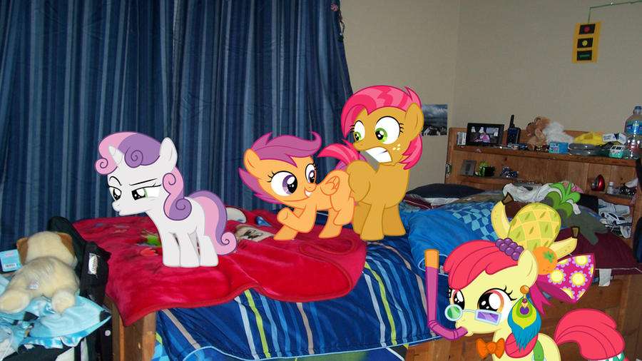 Request: CMC Sleepover by Macgrubor