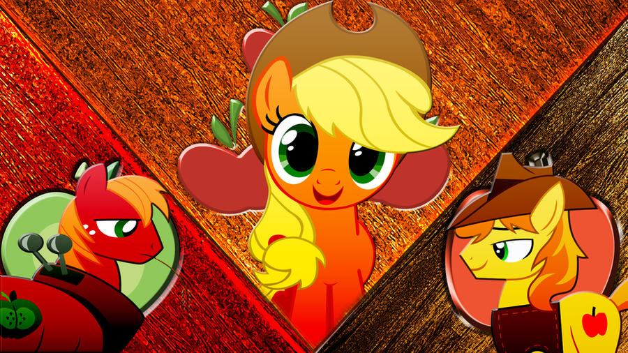 Apple Ponies by Macgrubor